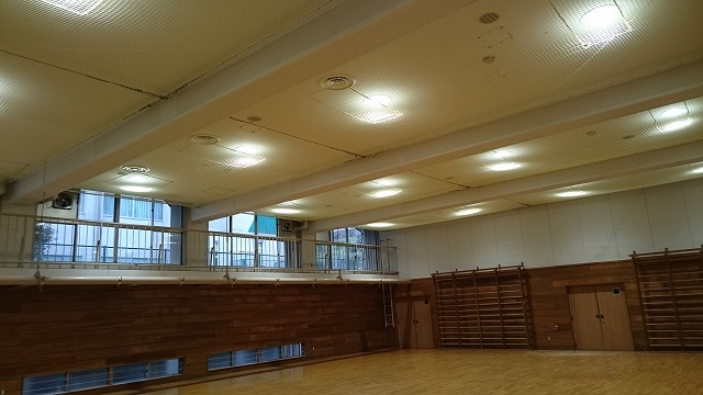 野津田高等学校体育館