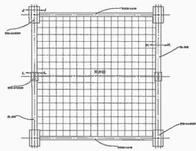 規格天井板組図